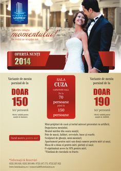 Nunta de vis cu doar 150 de lei! Lei, Hotel Spa, Wedding Ideas, Wedding Ceremony Ideas