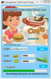 Goodgame Cafe hack App