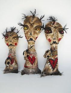 https://flic.kr/p/K8ShoN   Voodoo dolls   In my Big Cartel shop. Voodoo Ozile, Voodoo Ursile and Voodoo Sidalie
