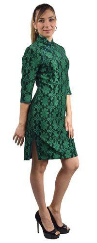robe chinoise glamour en dentelle http://www.laciteinterdite.com/robe-chinoise-glamour-en-guipure-c2x16287314