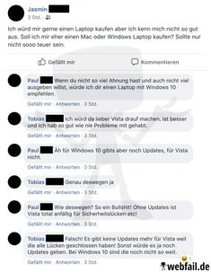 Der Computerexperte - Facebook Fail des Tages 09.04.2019 | Webfail - Fail Bilder und Fail Videos Facebook Humor, Facebook Fail Des Tages, Why People, Computer, Fails, Funny Stuff, Internet, Thoughts, Stupid