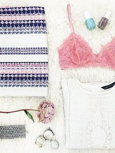 Instagram photos: How To Master The Flat Lay on Instagram via @WhoWhatWear