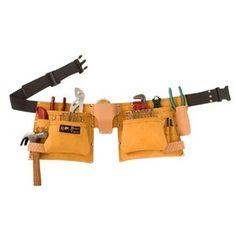 Bourn Tough 56'' 12 Pocket Contractors Tool Pouch Belt