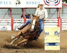 Barb West Barrel Racer; Rodeo Girls
