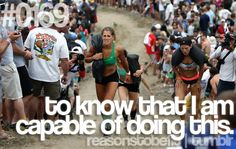 Reasons to be Fit #0169: To know that I am capable of doing this. #motivation