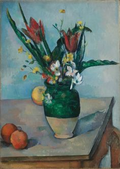 Paul Cézanne French, 1839-1906 The Vase of Tulips, c. 1890