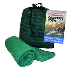 Outdoor RX 100 Viscose Rayon Camp Towel 12 x 30 >>> Check this awesome product by going to the link at the image.Note:It is affiliate link to Amazon.