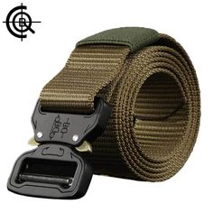 CQB Outdoor Sports Tactical Military Men Belt Wear-resisting Non-slip Breathable Quick Dry Nylon Webbing Heavy Duty Belt. Nylons, Airsoft, Tactical Belt, Tactical Knife, Tac Gear, Military Men, Slip, Quick Dry, Sport Outfits