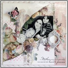 Layout by Steph Devlin for Prima using Tea Thyme collection