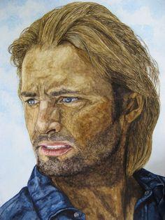 Sawyer gespielt von Josh Holloway in der Serie Lost - Jutta Bachmann