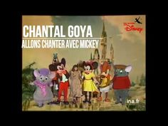 "Chantal Goya chante ""Allons chanter avec Mickey"" - YouTube"