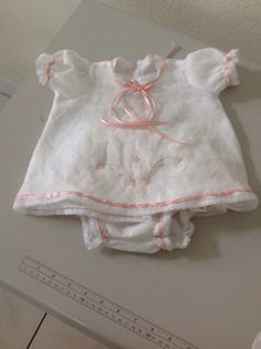 Baby Girl Clothes in Estopilla and Lace by EstherCollection, $85.00