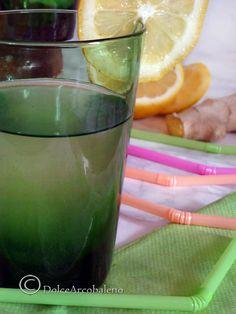 Bibita rinfrescante con zenzero e limone | DolceArcobaleno