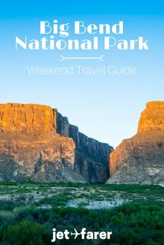 Big Bend National Park is one of the most beautiful places in the United States. There's so much to do here, including hiking, camping, and stargazing. Here's a sample itinerary you can use to plan a trip to Big Bend! | travel to Big Bend | hiking in Big Bend | Texas | Big Bend highlights | Texas-Mexico border |