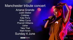 Image result for Justin Bieber sings for Manchester victims