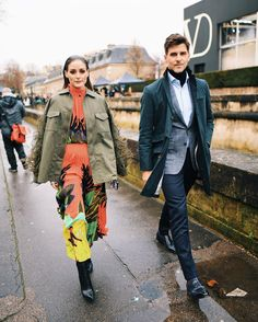Stylish Couple, Olivia Palermo, Couples, Instagram, Style, Fashion, Novels, Moda, Elegant Couple