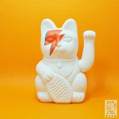 srmiau-david bowie-gato de la suerte-maneki neko-lucky cat (3)