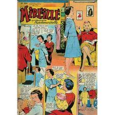 Mireille (n°255) du 24/12/1958 - Dessins de : Claude Verrier - Jean Sidobre - Ernie Bushmiller - Jean-Louis Pesch - Etienne Le Rallic - Angelo Di Marco - George Scarbo - F. Berlier -... [Magazine mis en vente par Presse-Mémoire]
