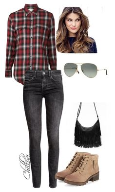 Autumn 2015 by chilluci on Polyvore featuring Yves Saint Laurent, H&M, Ray-Ban, ULTA, Boots, autumn, ray and side