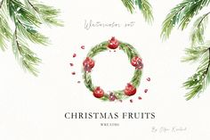 Christmas Bundle, Christmas cards, Christmas Fruits Watercolor Clip Art, mandarin oranges, pomegranate, tangerine, figue Clipart, greetings by KoelschArtLab on Etsy Christmas Clipart, Christmas Greetings, Christmas Cards, Watercolor Clipart, House Design Pictures, Mandarin Oranges, Christmas Illustration, Picture Design, Pomegranate