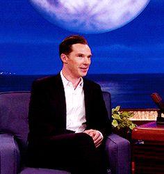 <3 #BenedictCumberbatch #YourFace #LovesIt