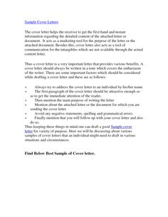 cover letter the best cover letters with this in preparing your cover letter of application - Your Cover Letter