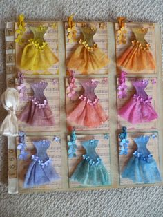 Party dresses - Tim Holtz distress inks and stains, corset & music images via http://www.graphicsfairy.blogspot.co.uk/