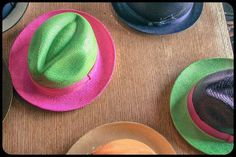 The Andes Fashion Eco-Luxury Panama Hats! colorful and vibrant... order now! sales@theandesfashion.com