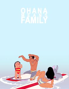 DailyLifeOfaDisneyFreak — disney-here-everywhere: Ohana means family