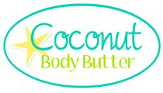 Coconut Body Butter Printable