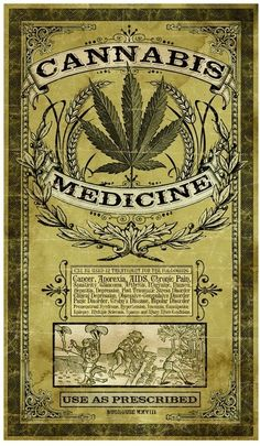 Cannabis has been a major medicine for hundreds of years. What if you could have… Cannabis has been a major Posters Vintage, Retro Poster, Vintage Labels, Funny Vintage Ads, Medical Cannabis, Cannabis Oil, Photographie Portrait Inspiration, Garage Art, Skull Art