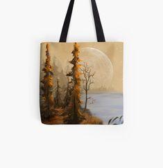Cotton Tote Bags, Reusable Tote Bags, T Art, Jenni, Poplin Fabric, Full Moon, Top Artists, Shopping Bag, Shoulder Strap
