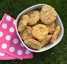 Ann Sather's White Chocolate Peanut Butter Cookies