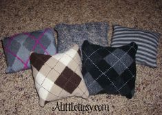Cute Bean Bags from Worn Out Socks - A Little Tipsy