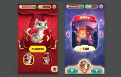 Solitaire Pets  Game UI / UX