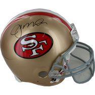 Joe Montana Autographed San Francisco 49ers Pro line Helmet