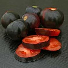 Tomato Indigo Rose is a unusal but gotta have tomato! 3.05 from Harris - Some of their prices are good and others so so