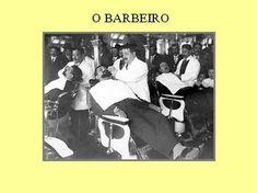 -: Antigas Profissões de Lisboa-o barbeiro