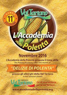 Delizie di polenta dal 5 novembre al 4 dicembre Val Tartano (SO)