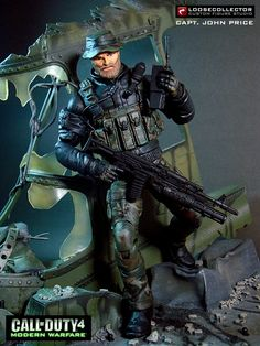 Loosecollector Custom Action Figures Official Website: Captain John Price Military Action Figures, Custom Action Figures, Gi Joe, Videogames, Seal Team 6, Special Air Service, Military Pictures, Plastic Art, Nightmare On Elm Street