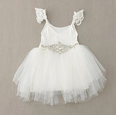 Princess Tutu Dress w/ Diamond Belt