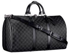 Louis Vuitton Duffle Bag Collections For Elegance Fashion: Louis Vuitton Keepall 45 Damier Mirror