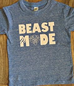 Disney kids clothes- beauty and the beast- beast mode- First birthday-Disney vacation-graphic tee-boy shirt by croixandgrace on Etsy https://www.etsy.com/listing/475421611/disney-kids-clothes-beauty-and-the-beast