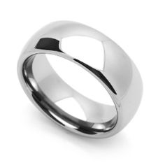 8MM Comfort Fit Tungsten Carbide Wedding Band Classic Domed Ring (5 to 14) Cobalt Free Double Accent. $19.99. Prompt Shipping. Free Ring Size Exchange. Comfort Fit Wedding Band