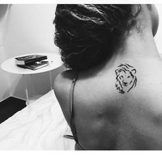 Image result for tiny lion tattoo