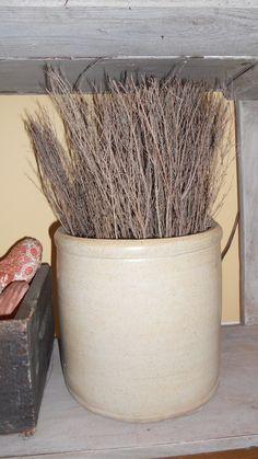 cinnamon brooms and crocks