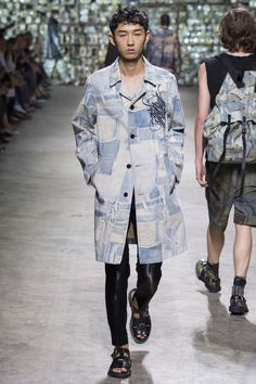 Dries Van Noten Spring 2017 Menswear Fashion Show