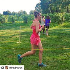 #Repost @runkarlarun (@get_repost)  2nd race post baby! Gorgeous vineyard trails at Wine Run RI. 7 of 46 in my age group! Top 15--super happy w/that & yummy wine too! Props to hubs @philhospod for his age group win & 3rd overall! @racetherhode @greenvalevineyards @champion #realchampion . . .  #sundayrunday #winerun #vineyard #raceday #trailrunning #trailrun #trailrace #runspiration #runspo #runbrag #running #runners #runnerd #fitmom #runnermom #motherrunner #whyirun #vino #nevernotrunning