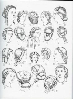1860's hairstyles - Bing Images