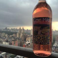 Rain rain go away, all of New York wants to rosé.